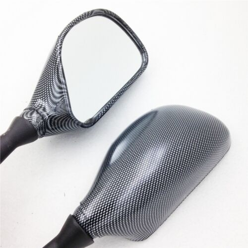 For Kawasaki ZX636 2003-2004 ZX6RR 2003-2006 Carbon OEM Replacement Mirrors