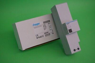 Hager SPA301Z Kombiableiter 4-pol T1+T2 30 kA TT-TNS System für Sammelschienen