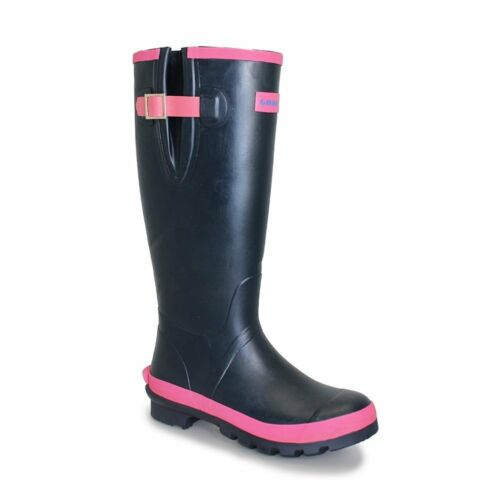 NEOPRENE LINING  24 hour delivery Ladies Goodyear Loch Wellington Boots