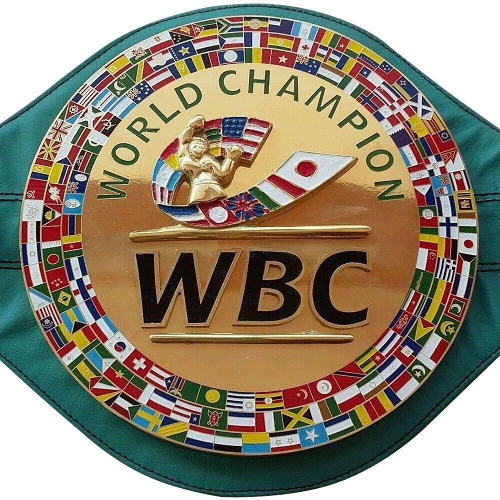 WBC Boxing Champion Ship Belt Adult Größe