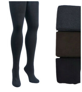 PLUS-SIZE-Womens-Warm-90-Cashmere-Thick-Opaque-Tights-Winter-1x-2x-3x