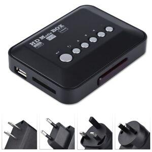 1080P-HD-TV-Media-Player-Box-H-263-H-264-USB-MP3-WMA-VOB-w-IR-Remote-Control
