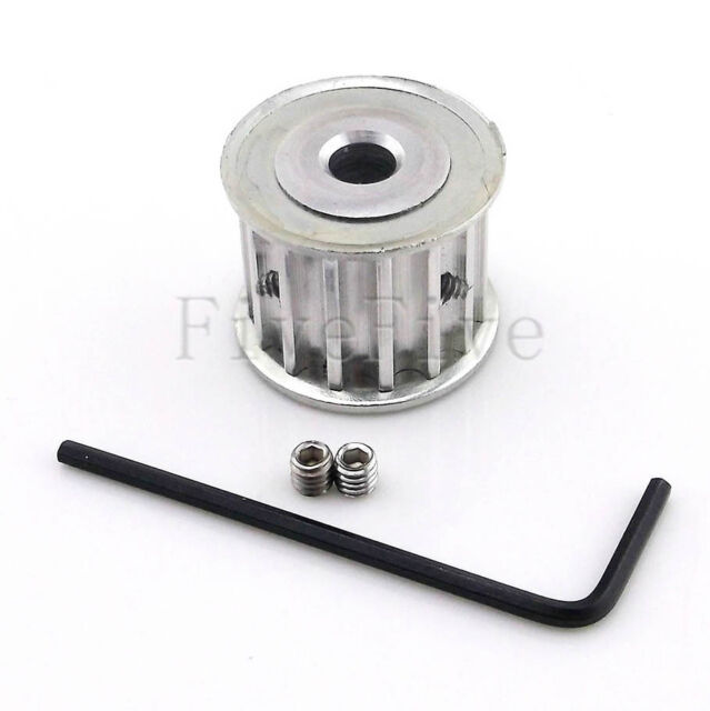 HTD5M 12T 12-Teeth 5mm-Pitch 16mm-Width Timing Belt Drive Pulley Choose Bore