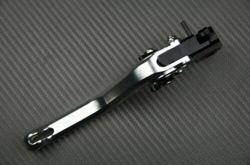 Leviers de frein court short brake levers CNC aluminium Aprilia SRV 850 2014-15