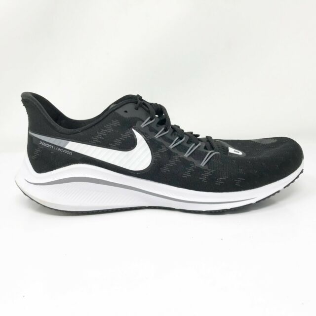 Nike Womens Air Zoom Vomero 14 AH7858-011 Black White Running Shoes Size 11