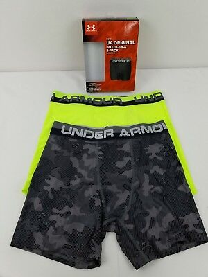 Under Armour Boys Original Series BoxerJock Briefs Lot of 5 Pack YMD