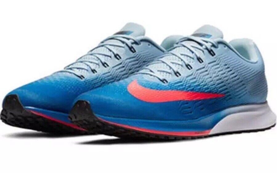 Nike air zoom elite 9 scarpe numero 12 uomini ?? blu, rosso 863769-403 solare
