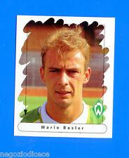 FUSSBALL BUNDESLIGA 1995-96 Figurina Sticker n. 11 - BASLER - WERDER BREMEN -New