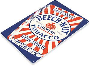 TIN-SIGN-Beech-Nut-Tobacco-Retro-Sign-Cigar-Shop-Smoke-Store-A012