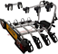 Witter-ZX304EU-Fahrradtraeger-fuer-Anhaengerkupplung-AHK-fuer-4-Fahrraeder-abklappbar Indexbild 1