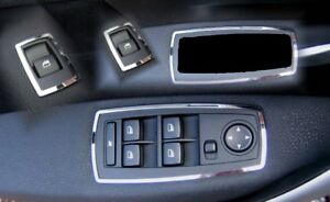 Edelstahl poliert D Opel Corsa D Chrom Rahmen für Schalter Fensterheber