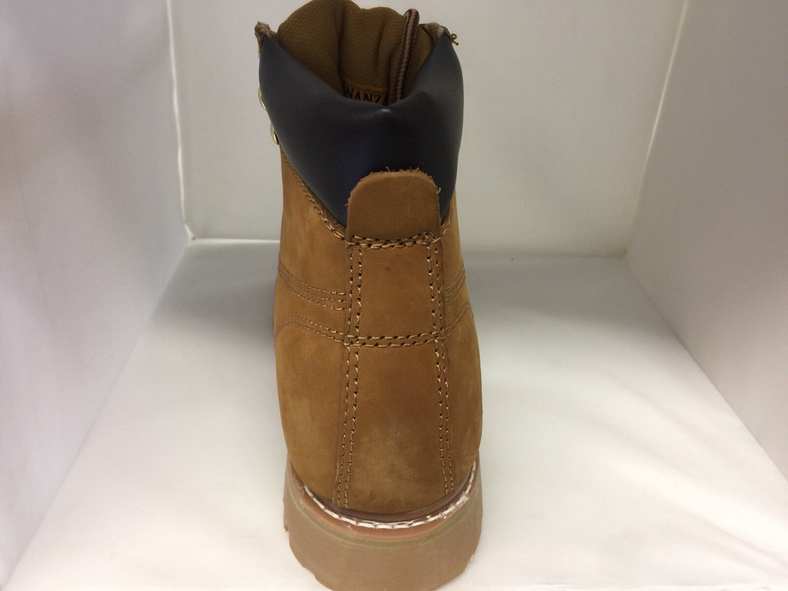 Bonanza Uomo Size 11, Goodyear Tan Lace Up Round Toe BA610 Work Stivali BA610 Toe BRAND NEW. deca12