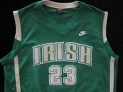 LEBRON JAMES 2xl JERSEY St Mary St Vincent IRISH Nike XXL Mens CLEVELAND CAVS