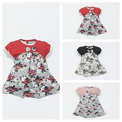 Neu ♥ Babykleidung  1-teilig  Kleid  Gr 68 ; 74 ; 80 ; 86 ...