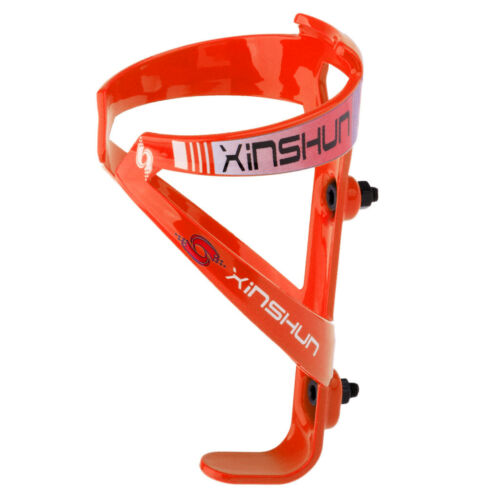 Vélo Bouteille d/'eau Cage Cyclisme Eau Tasse Bouilloire Support Stand Anti-Rayures Orange