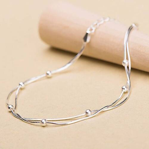 Women Ankle Bracelet  Plated Anklet Chain Jewelry T