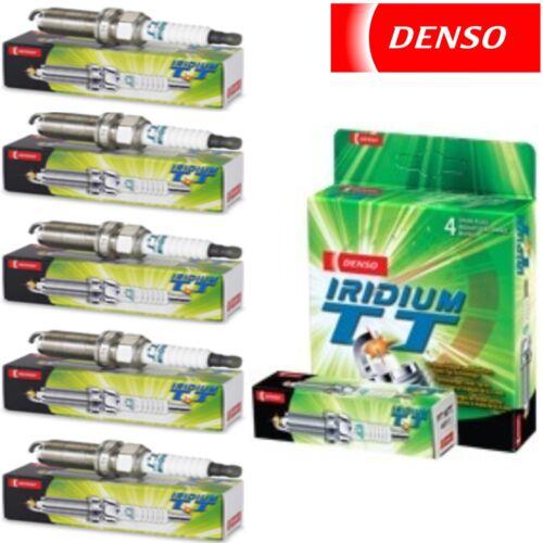 Denso Iridium TT Spark Plugs 2004-2011 Chevrolet Colorado 3.5L 3.7L L5 5