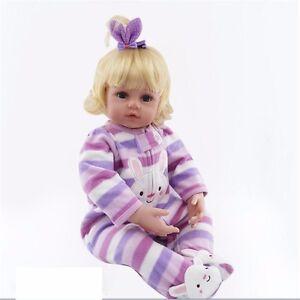 22-034-Toddler-Reborn-Baby-Girl-Doll-Silicone-Vinyl-Lovely-Newborn-Toy-Gift-Handmade