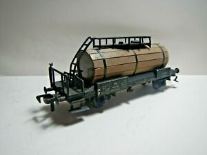 HO-Fleischmann-Kit-Bashed-Wood-Clad-Tank-Car