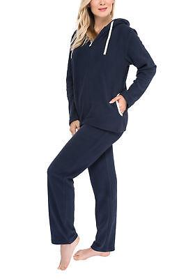 Fleece-Anzug Hausanzug aus w/ärmenden Fleece f/ür Damen SLOUCHER