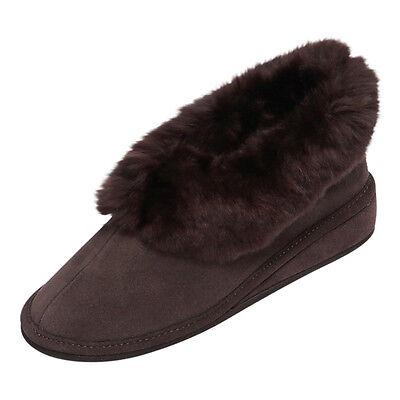 Pelle di pecora Pantofole - ELISABETH Donna Scarpe pelliccia Pelo cuoio