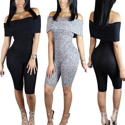 New Women Ladies Clubwears Playsuit Bodycon Party Jumpsuit Romper Trousers 1 pcs