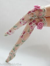 Custom Stockings For Blythe/Pullip/Monster High/Lalaloopsy/Hujoo - BS207,Flower