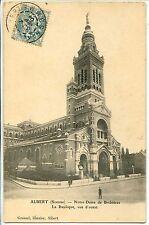 CP 80 SOMME - Albert - Notre-Dame de Brébières - La Basilique, vue d'ouest