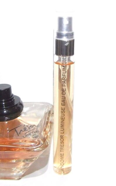 Lancome Eau Sample Parfum 33oz Edp Lumineuse De 0 Tresor Spray 10ml Travel BCexdro