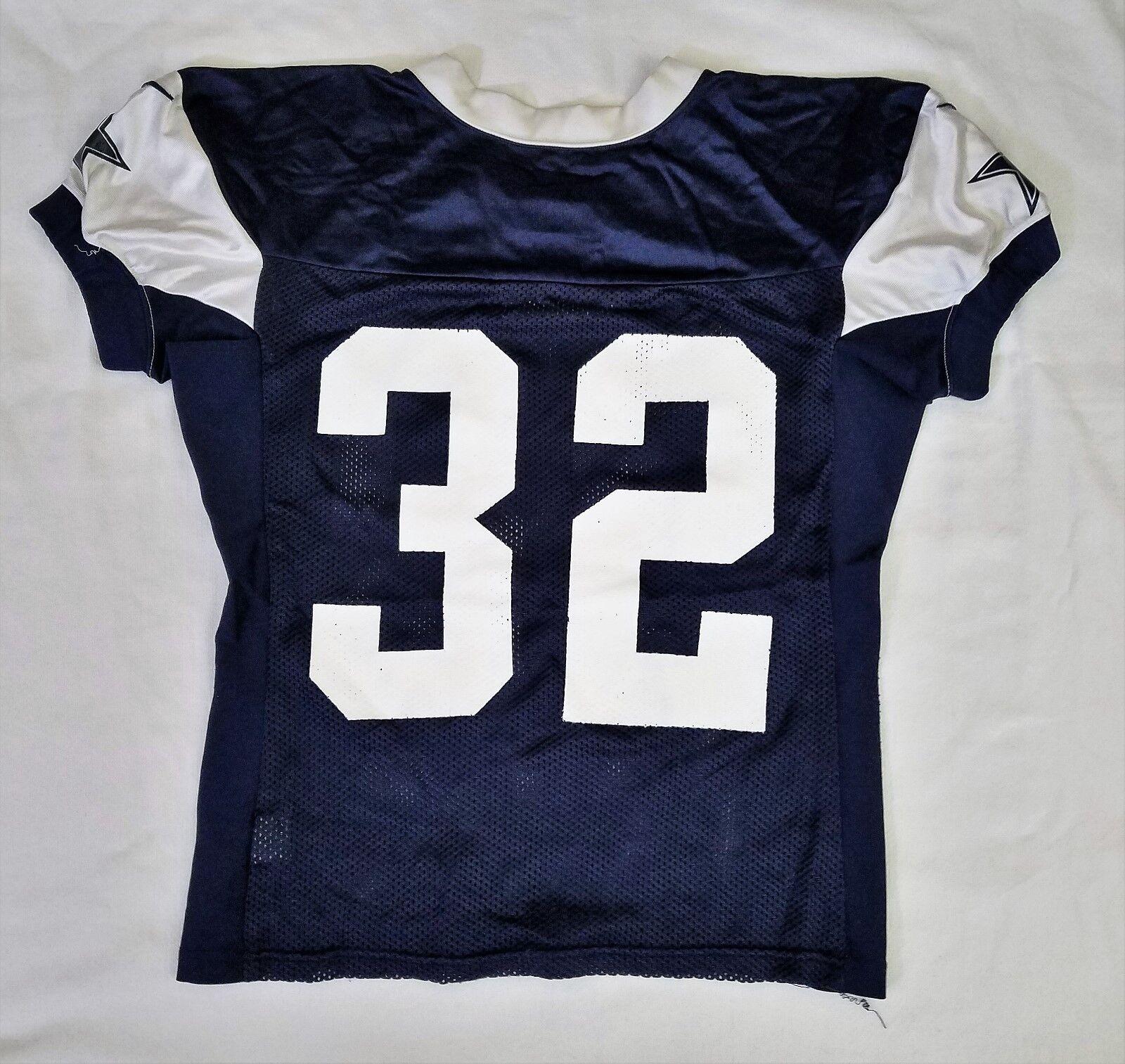 #32 Orlando Scandrick of Dallas Cowboys NFL Locker Room Practice Worn Jersey
