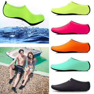 Women Men Skin Water Shoes Aqua Beach Socks Pool Swim Slip On Surf Yoga Exercise