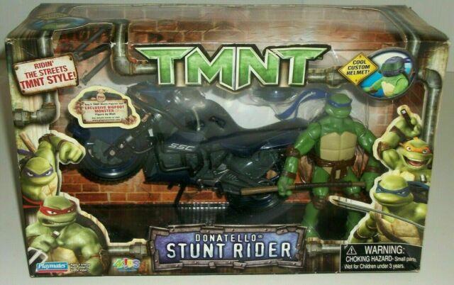 2007 Tmnt Movie Playmates Stunt Rider Donatello Action Figure