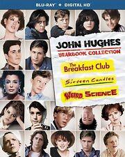 BREAKFAST CLUB/ WEIRD SCIENCE/ 16 CANDLES -  Blu Ray -Sealed Region free for UK