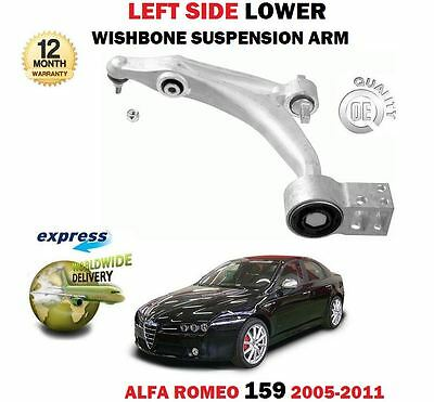 FOR ALFA SPIDER 2007/> FRONT 2 SUSPENSION UPPER WISHBONE ARMS NEARSIDE /& OFFSIDE