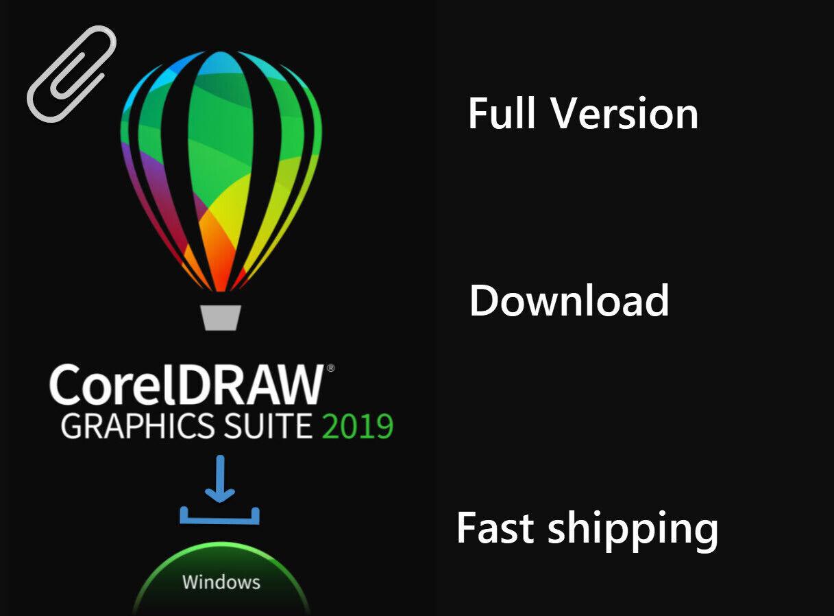 CorelDRAW Graphics Suite 2019 - Orignal , Full - For Windows 2