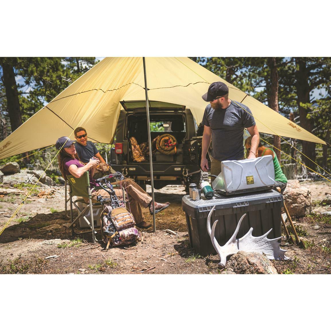 Truck Tent Suv Camping Tarp Tailgate Tiendamia Com