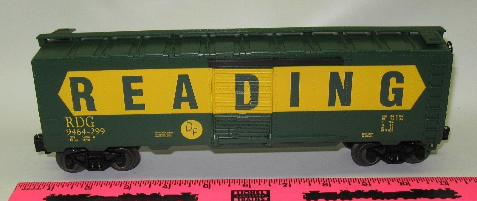 Lionel New 6-29258 Reading boxcar  9464-299
