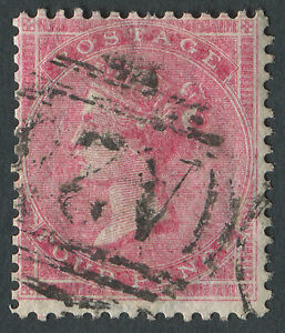 GB used in Malta Z47 4d Rose-Carmine, A25 cancel