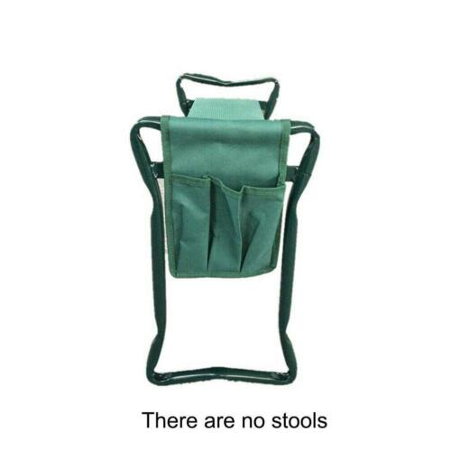 Folding Portable Garden Kneeler Seat Bench Kneeling Pad and Tool Pouch Outdoor