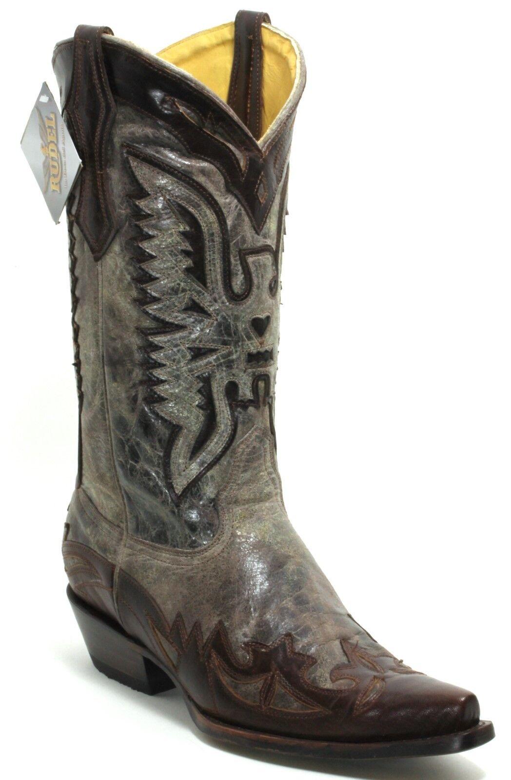 131 Cowboystiefel Westernstiefel Texas Stiefel Western Lederstiefel Rudel 44