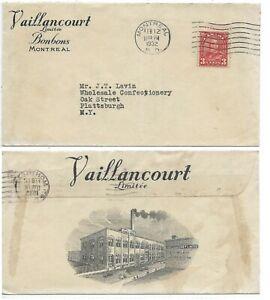 Advertising-Cover-VAILLANCOURT-LTD-Montreal-Quebec-Circa-1932