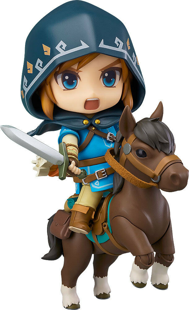 ACTION FIGURE ZELDA BREATH OF THE 10 CM WILD LINK NENDgoldID DELUXE EDITION