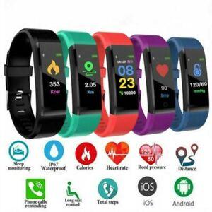 Smart-Watch-Bracelet-Heart-Rate-Blood-Pressure-Monitor-Fitness-Tracker-ID115Plus