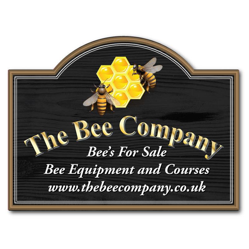 APE personalizzato mantenendo segno, miele in vendita Sign, completamente resistente alle intemperie, qualsiasi testo