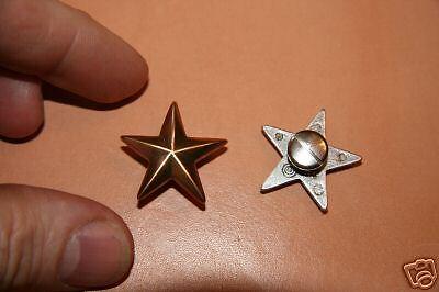Small Gold star Concho