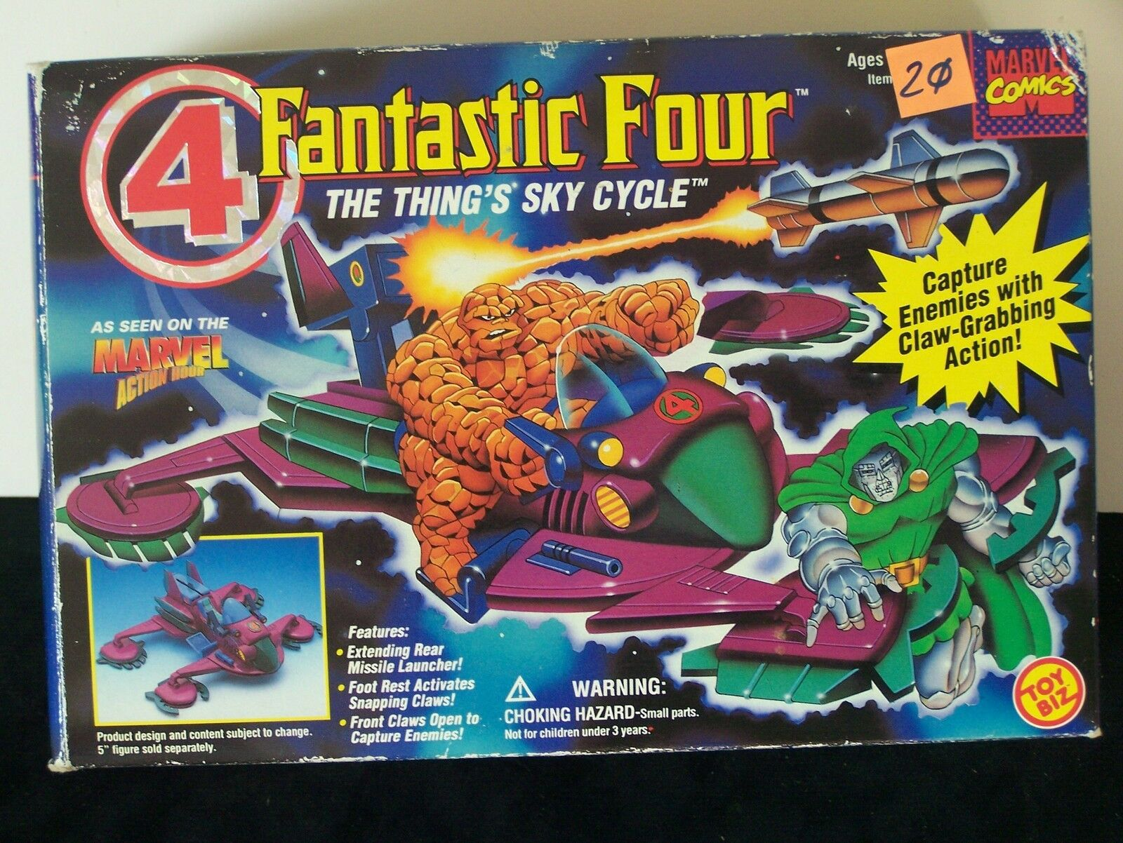 Thing Skycycle Fantastic Four
