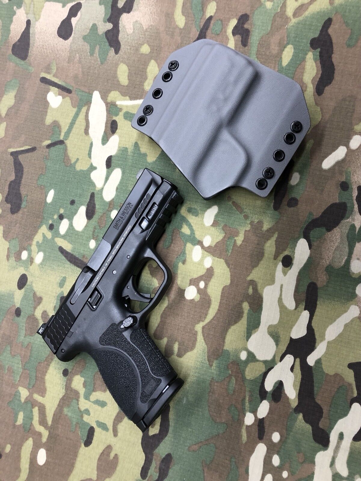 Battleship Battleship Battleship grau Kydex Holster for M&P 2.0c Compact 9b4e65