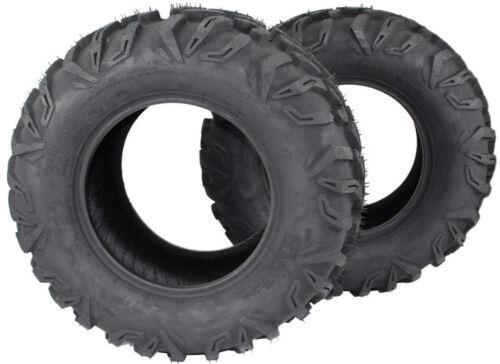 Set of Two RTV Tires 25x10.00-12 ATV//UTV ** FREE /& FAST SHIPPING **