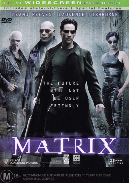 MATRIX   Keanu Reeves DVD R4 PAL New   SirH70