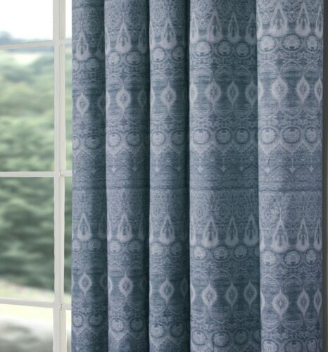Pair of Indiana Fully Lined Pencil Pleat Curtains Choice of Colours /& Sizes